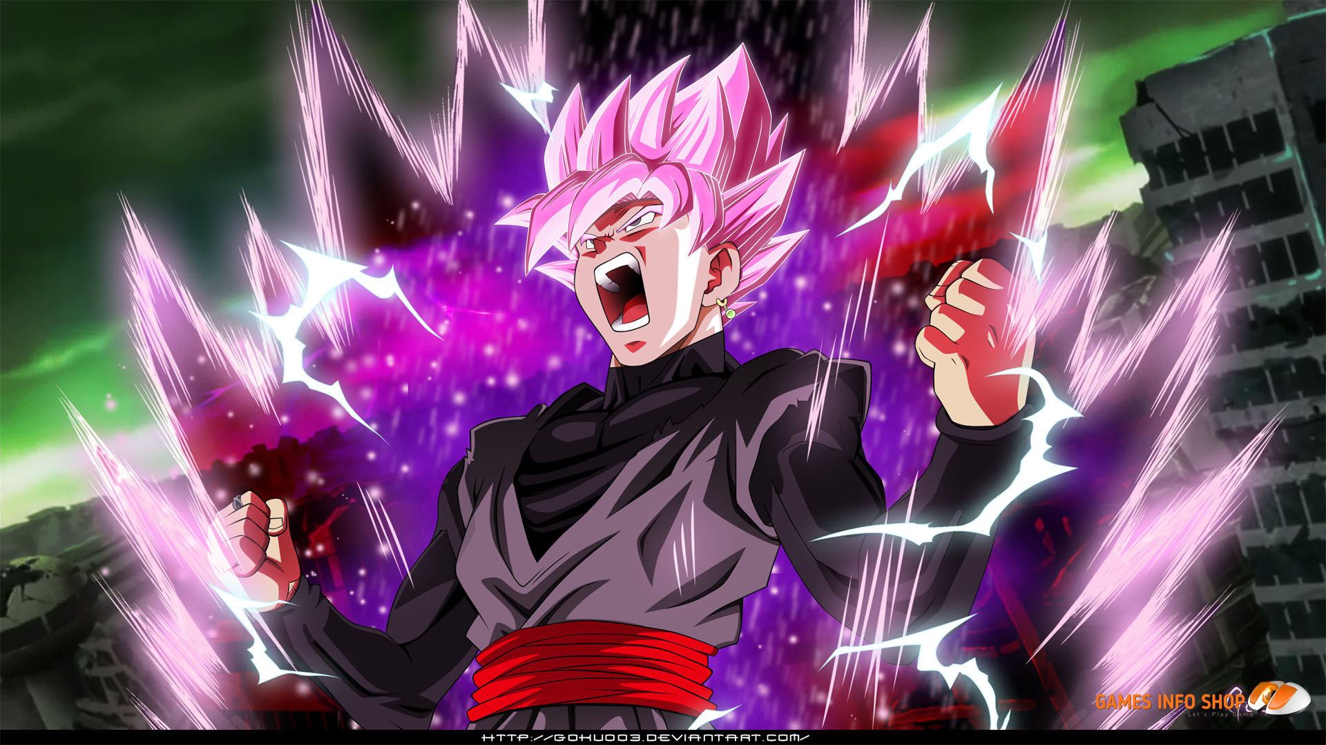Goku Black Is World King God Who Have Many Superpowers